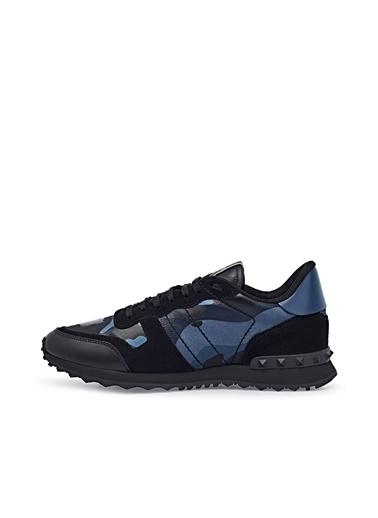 Valentino Sneaker Ayakkabı Erkek Ayakkabı S0723 Tcc Gs5 Mavi